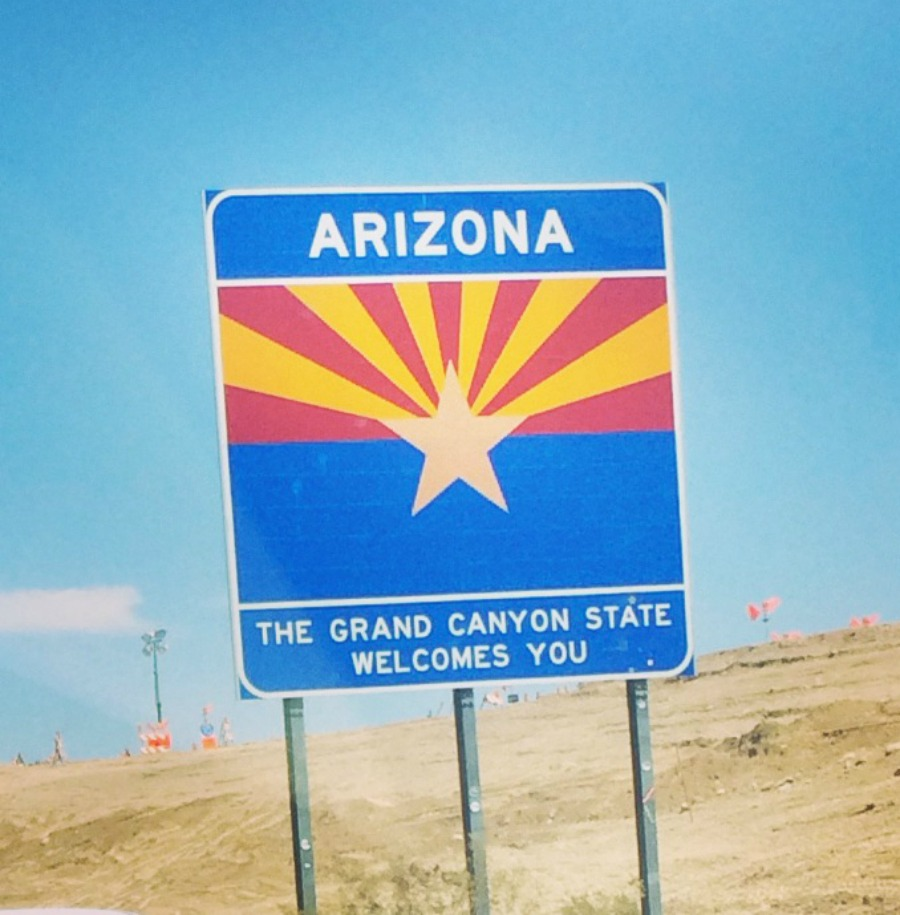 Arizona State Sign
