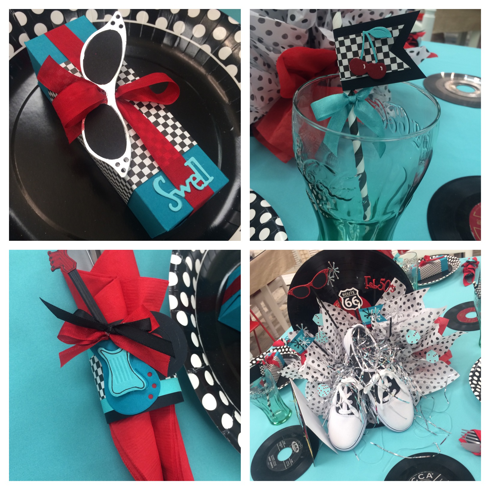 Summer fun at the sizzix 1950s sock hop sizzix1950s for 1950s party decoration