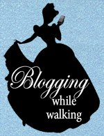 blogging while walking