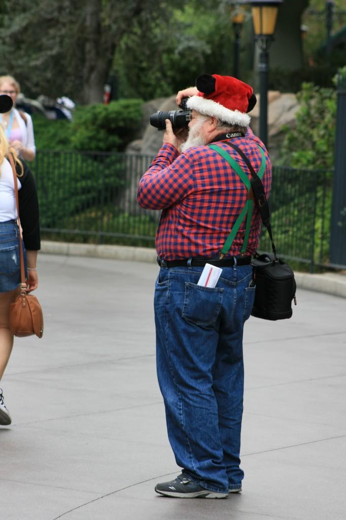 Santa in the parks