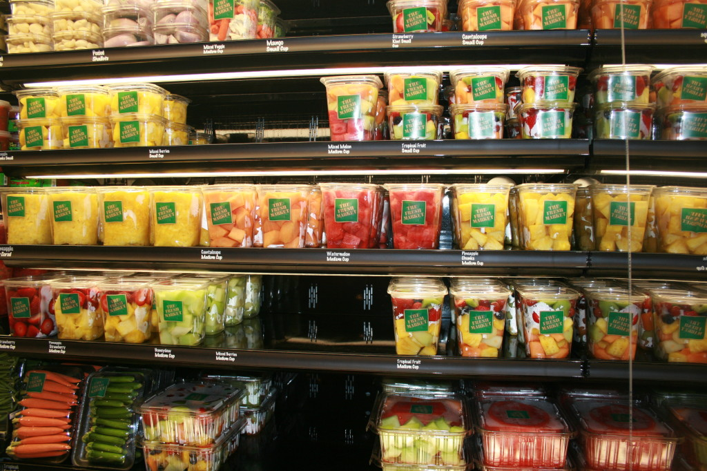 packaged fruit