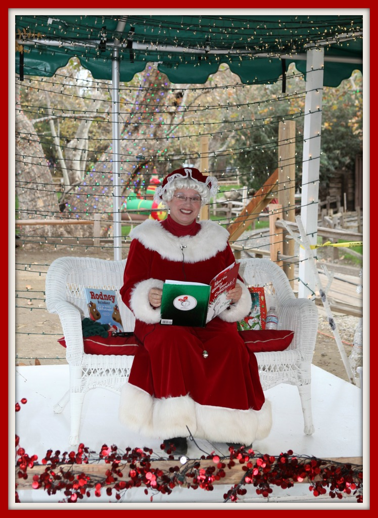 Read with Mrs. Claus