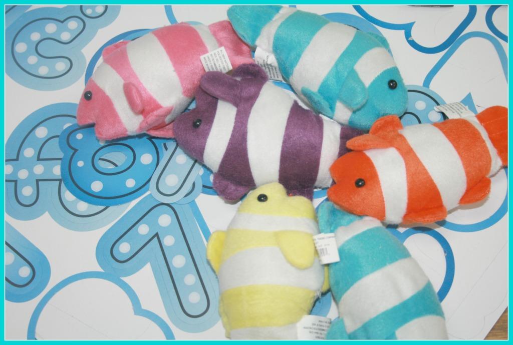 plush clown fish