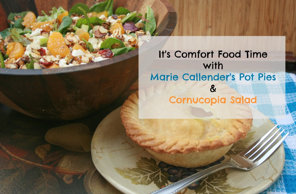 Comfort Food Time with Marie Callender's Pot Pies #EasyAsPotPie #Ad
